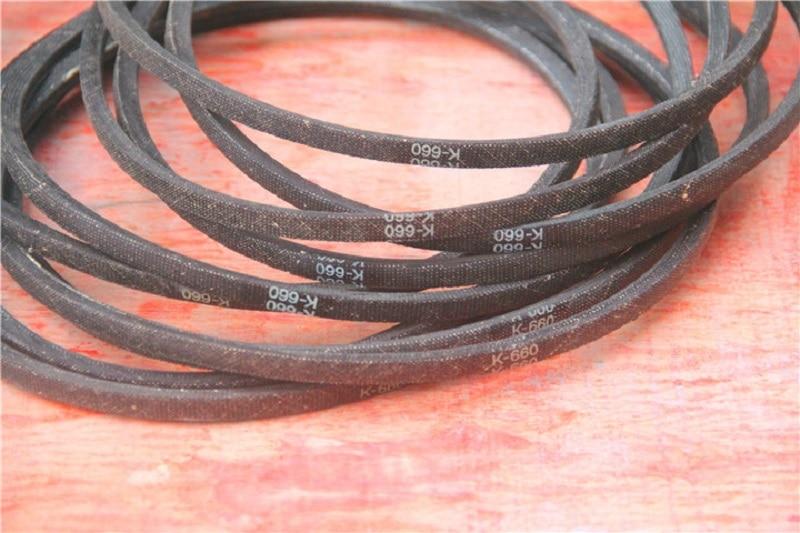 NEW 1Pcs K660 K26 Drill Press Rubber Vee-belt Drive Driving Belt For Bench Drill