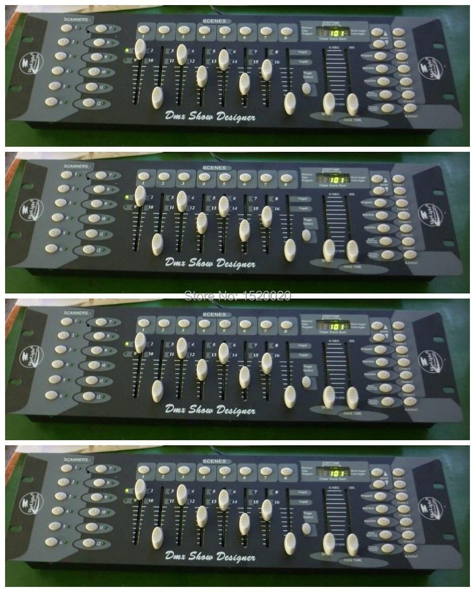 4Pcs/Lot Lighting Controller 192 Dmx Channels Control Unit 192 Console Good Quality Dmx Console Dj Light Controller