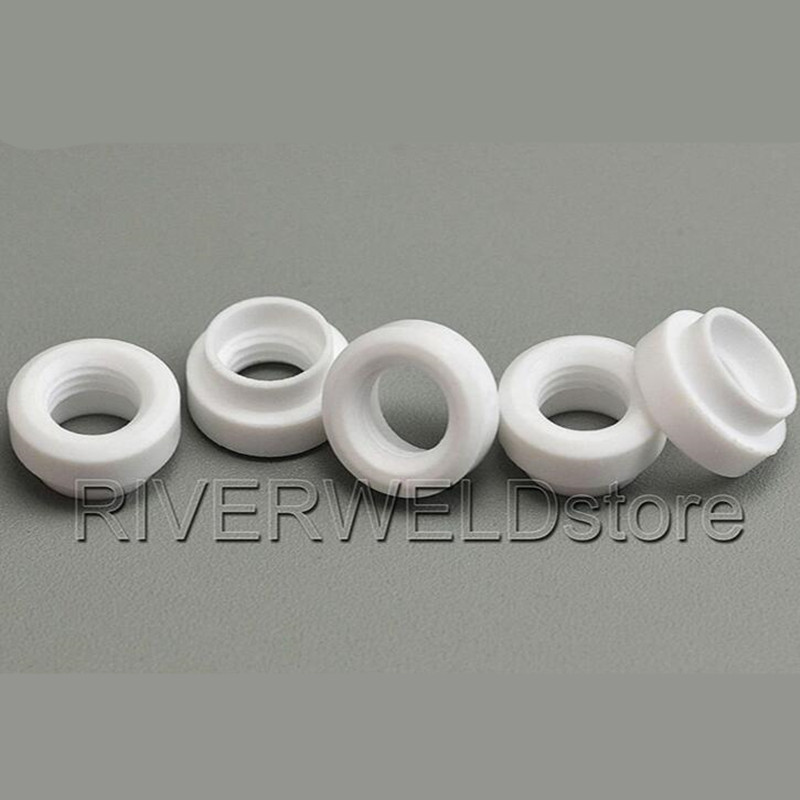 53N66 Cup Gaskets Insulators Gas Lens Fit TIG Welding Torch WP-24 24W, 5PK