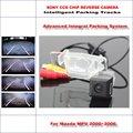 Интеллектуальная Парковка Треков Автомобильная Камера Заднего Вида Для Mazda MPV 2000 ~ 2006 резервное копирование Обратный/NTSC RCA AUX HD SONY 580 ТВ линии