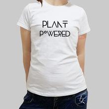 5bfaacd5316bb new summer brand t-shirt women Plant Powered Vegan cotton tshirt girls tops  female brand
