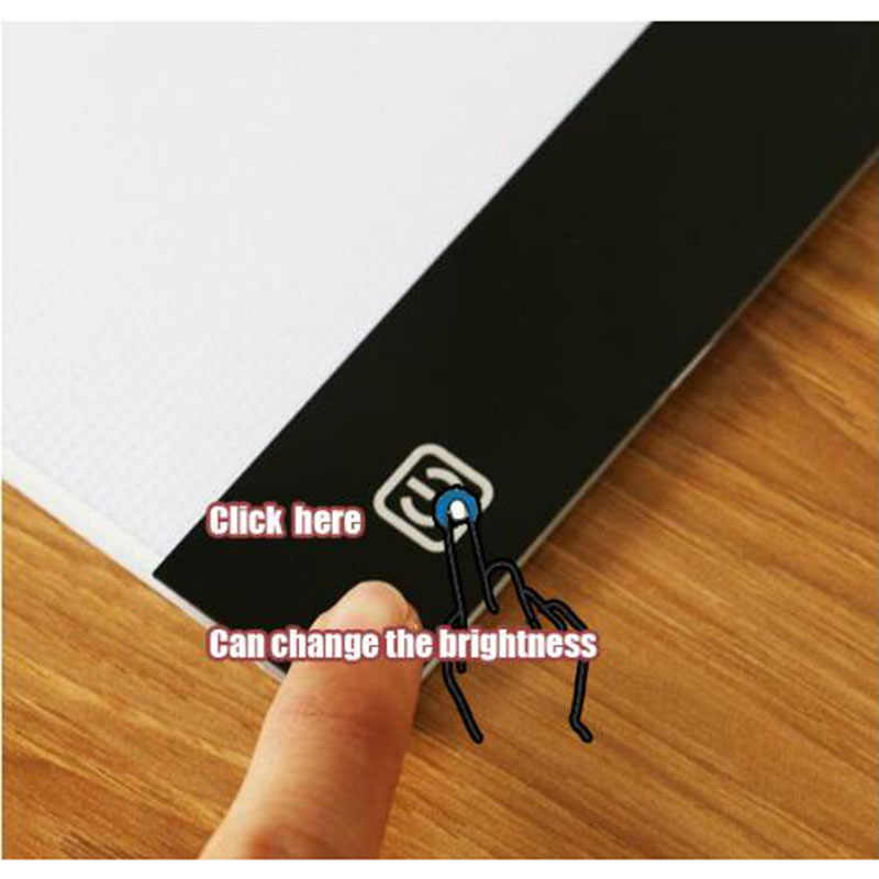 2019 new diamond painting A4 LED lightpad Thin Art Drawing Board Light Box  Tracing Writing Portable f17f8a8a9b39