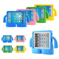 For Ipad 9 7 2017 Foam Shock Proof Soft Stand Case Kids Cover For IPad 2