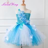 4a6b3aba2b Baby Girls Dress Anna Elsa Cosplay Costume Summer Dresses Girl Princess Elsa  Dress For Birthday Party
