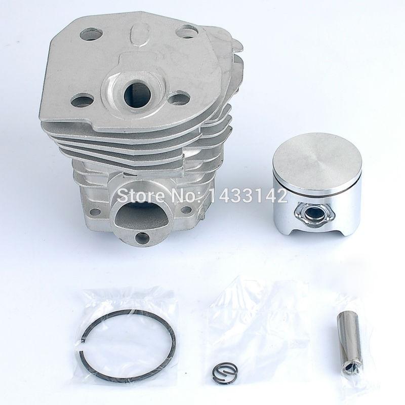 New LOW 44mm Cylinder Piston Kit for HUSQVARNA 346 350 351 353 Chainsaw P/N:CH-HU-350L 2 pcs new 44mm cylinder