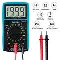 Todo el sol EM382B LCD multímetro Digital DC/AC voltímetro continuidad batería diodo probador Barco de Rusia