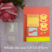 2019 new love baby crib Cradle Metal Cutting Dies Scrapbooking Embossing Stencil Card DIY Invitation Album and stamps Decor