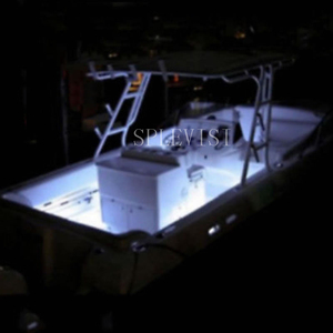 Image 2 - Wireless Blue White Red LED Strip Kit For Boat Marine Deck Interior Lighting 16 FT Waterproof 12v Bow Trailer Pontoon Light