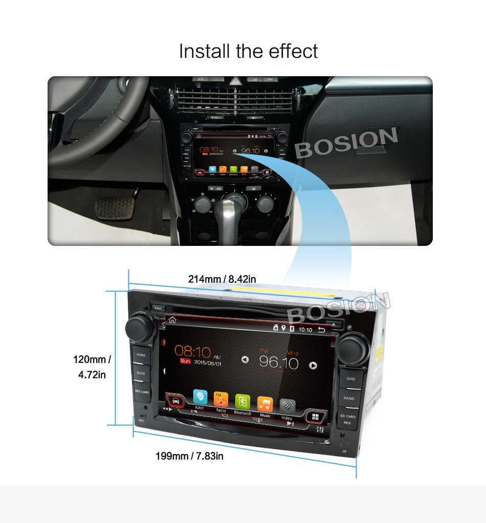 アンドロイド 2 喧騒車の Dvd Autoradio ナビゲーション Wifi BT 4 グラム Vauxhall オペルアストラ H グラムベクトラアンタラザフィーラコルサマルチメディア 4 グラム + 64 グラム
