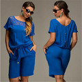 New Women Clothes Lace Party Playsuit Jumpsuit One piece Trouser Plus Size L XL 2XL 3XL 4XL