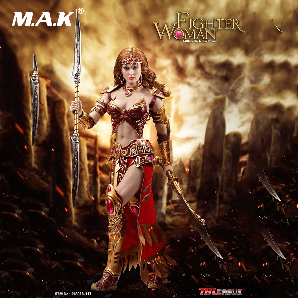In Stock For Collectible Full Set Action Figure TBLeague PL2018-117 1/6 Fighter Woman Soldier Warrior Female Figure for Fan Gift jakks pacific warcraft horde warrior alliance soldier mini figure