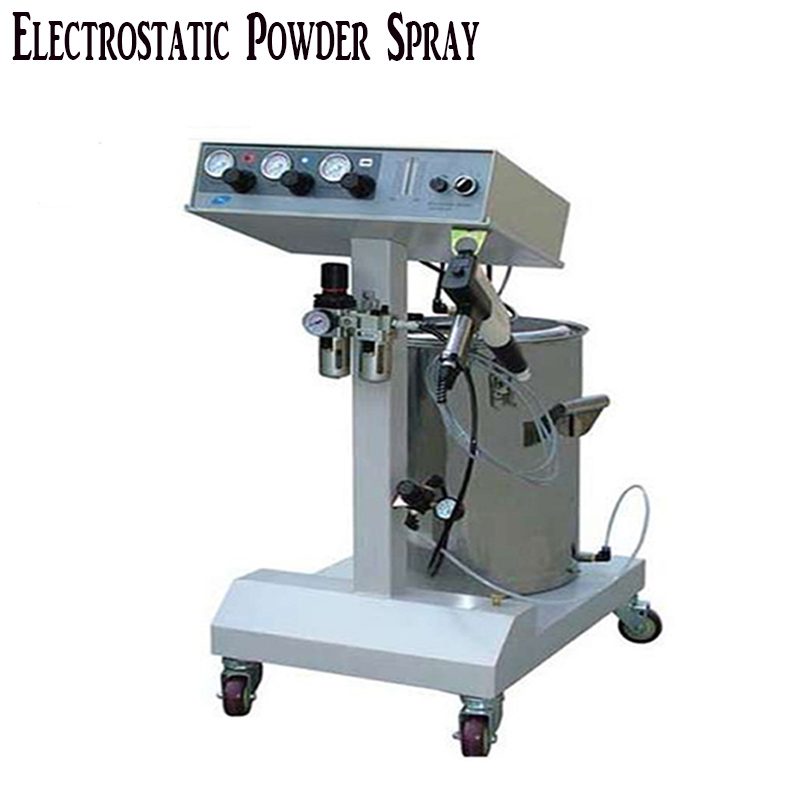 DHL ship Electrostatic Powder Coating machine,Electrostatic Spray Powder Coating Machine Spraying Gun Paint,powder paint AC 220v цены