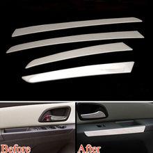 Car Interior Door Armrest Sequins Trim Panle Cover Strips For Cruze 09-2015