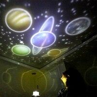 Новый Fantasy Universe светодиодный волшебный проектор лампа вращается планета, звезда День рождения ночник Рождество Свадьба Вечеринка Игрушки д...