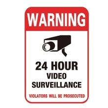 Новинка, 3 шт./лот, защита от солнца, для дома, CCTV, видеонаблюдение, камера безопасности, сигнализация, Предупреждение ющая наклейка, знаки