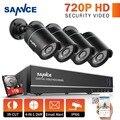 SANNCE 8CH 720P CCTV System 1080P HDMI DVR 4pcs 720P Waterproof IR Outdoor CCTV Security Cameras 1280TVL Video Surveillance Kit