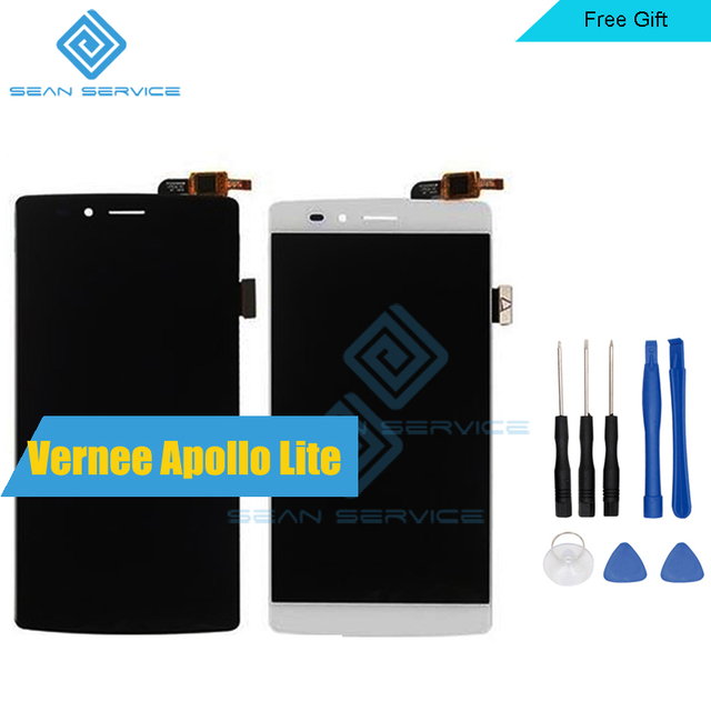 """For Original Vernee Apollo Lite LCD Display + TP Touch Screen Digitizer Assembly Lcds 5.5"""" Vernee Apollo Lite Mobile Phone"""