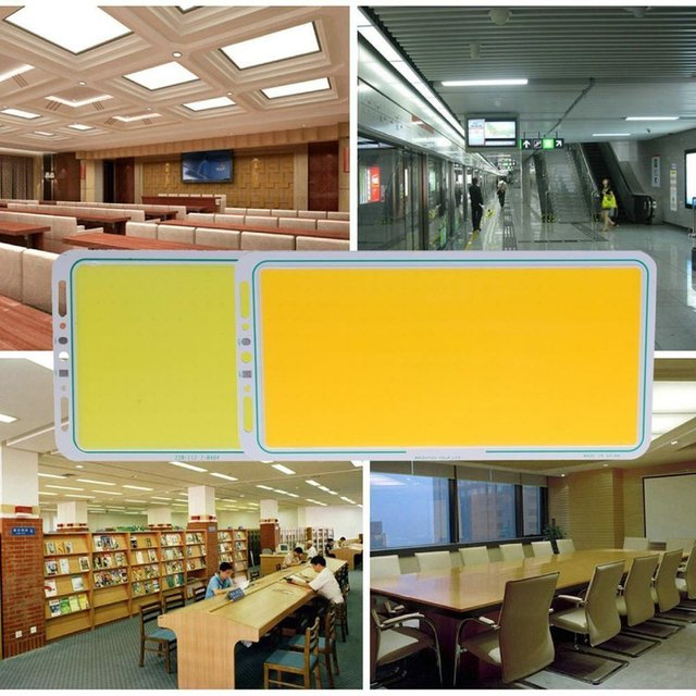 ICOCO LED Panel Light 12V 70W 7000LM LED Strip Light COB Lamp Super Brightness