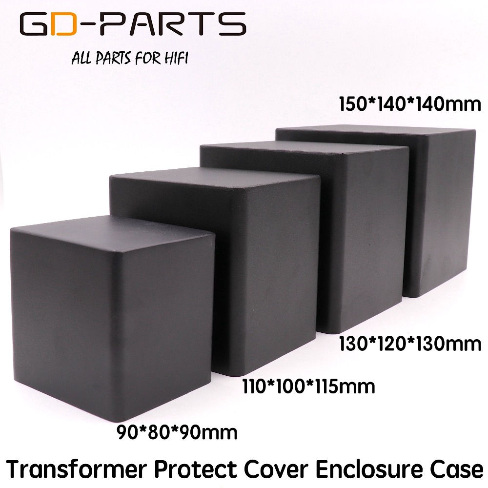 GD-PARTS Tube Audio AMP Triode Transformer Protect Cover Iron Case Enclosure 90*80*90mm 110*100*115mm 130*120*130mm 150*140*140 комплект одежды для мальчиков no brand 2015 t 80 90 100 110 120