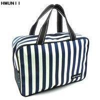 High Quality Waterproof Stripes Wash Bag Bath Basket Bath Pocket Bath Bag Men And Women Outdoor