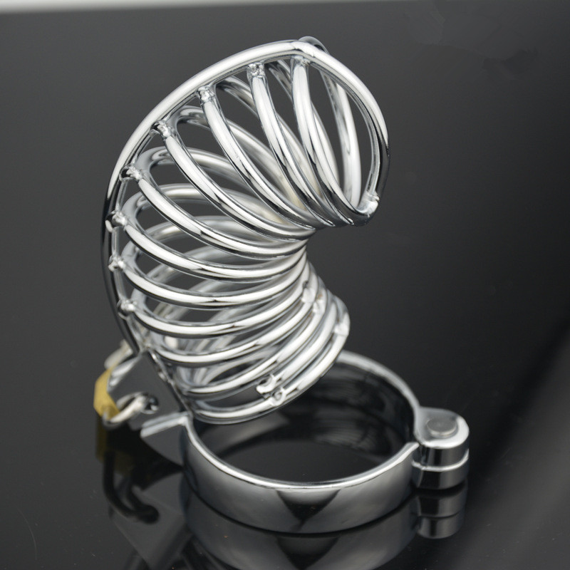 Sex tools for sale new spiral design style male chastity belt device big cock cage ring sex toys bdsm bondage harness for men.