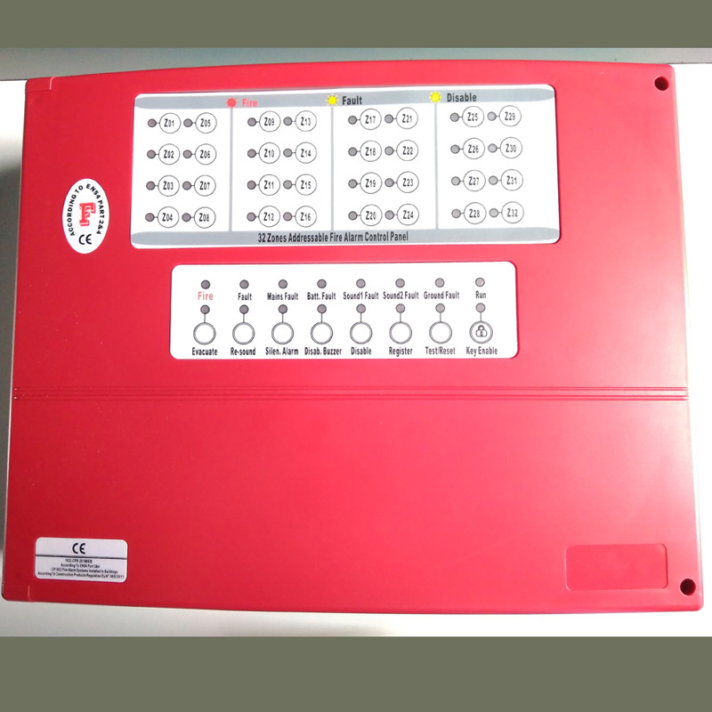 new good rice 16 zone Fire Alarm Control Panel Conventional panel FACP detector control system can work 400 detectors цена и фото
