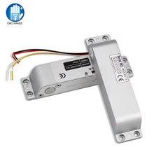 Nc電気ドロップボルトロックDC12Vフェイルセーフ電子スマートドアロックアクセサリーとアクセス制御システムの時間遅延
