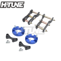 H TUNE Extended 2.5 Front Coil Spacer Struts and 2 Rear Greasable Shackles Lift Up Kits 4WD For D max /Colorado 2012+