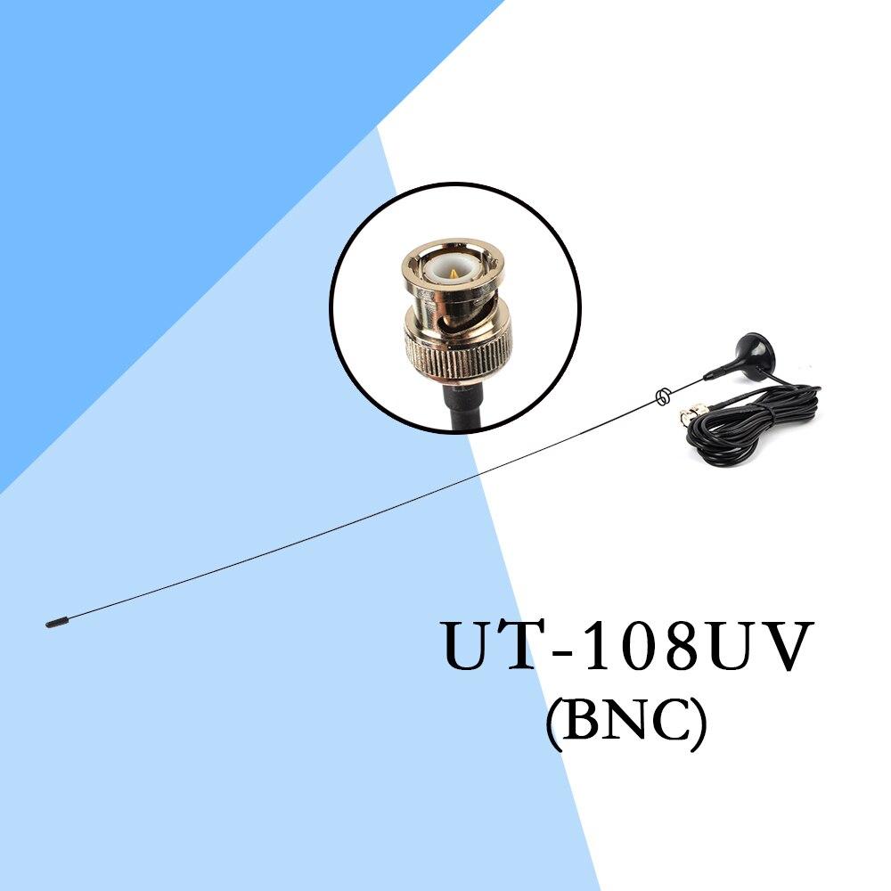 5PCS HYS BNC Walkie Talkie Antenna 144/430MHz Magnetic Base Car Mobile Antenna for CB Radio Two Way Radio ICOM IC-V8 UT-108UV