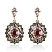 New Design Vintage Earrings For Women Antique Gold Fashion Earrings Earring Indian Jewelry