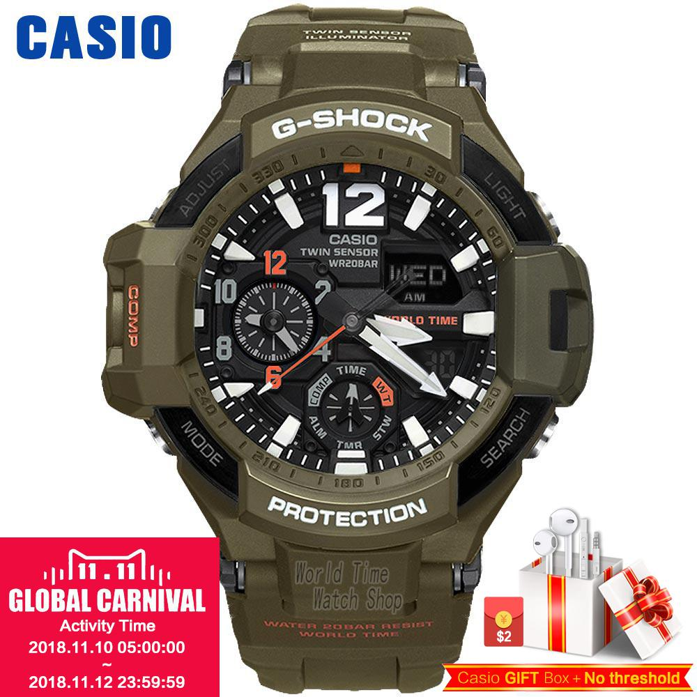 Casio WATCH fashion multi-functional sports male watch GA-1100KH-3A GA-1100RG-1A casio ga 110hc 1a