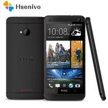 M7 разблокирована оригинальный HTC один M7 801e 32 ГБ Android 4 г смартфон Quad Core сенсорный Silver/Black One йеай Гарантия