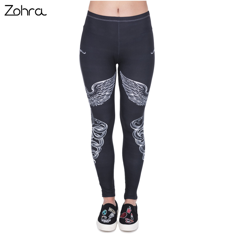 Zohra Spring Fashion Women Legins Sword 3D Printing   Legging   Slim High Waist Woman   Leggings