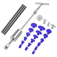Tools Paintless Dent Repair Slide Hammer Reverse Hammer Dent Puller Suckers Suction Cup Glue Tabs Tools Kit 26Pcs/Set