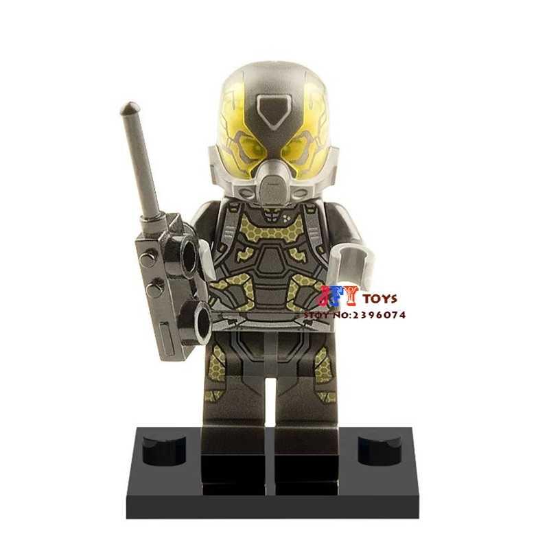 Einzigen Verkauf superhero die gelb jacke bausteine modell ziegel spielzeug für kinder brinquedos menino