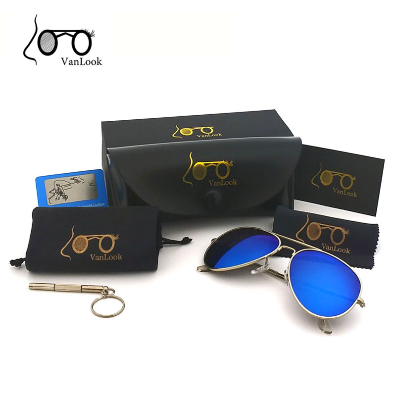Women Sunglasses Polarized Sun Glasses For Men Driving Brand Designer Box UV400 Mirror Lens Vintage Classic Luxury Shades Female
