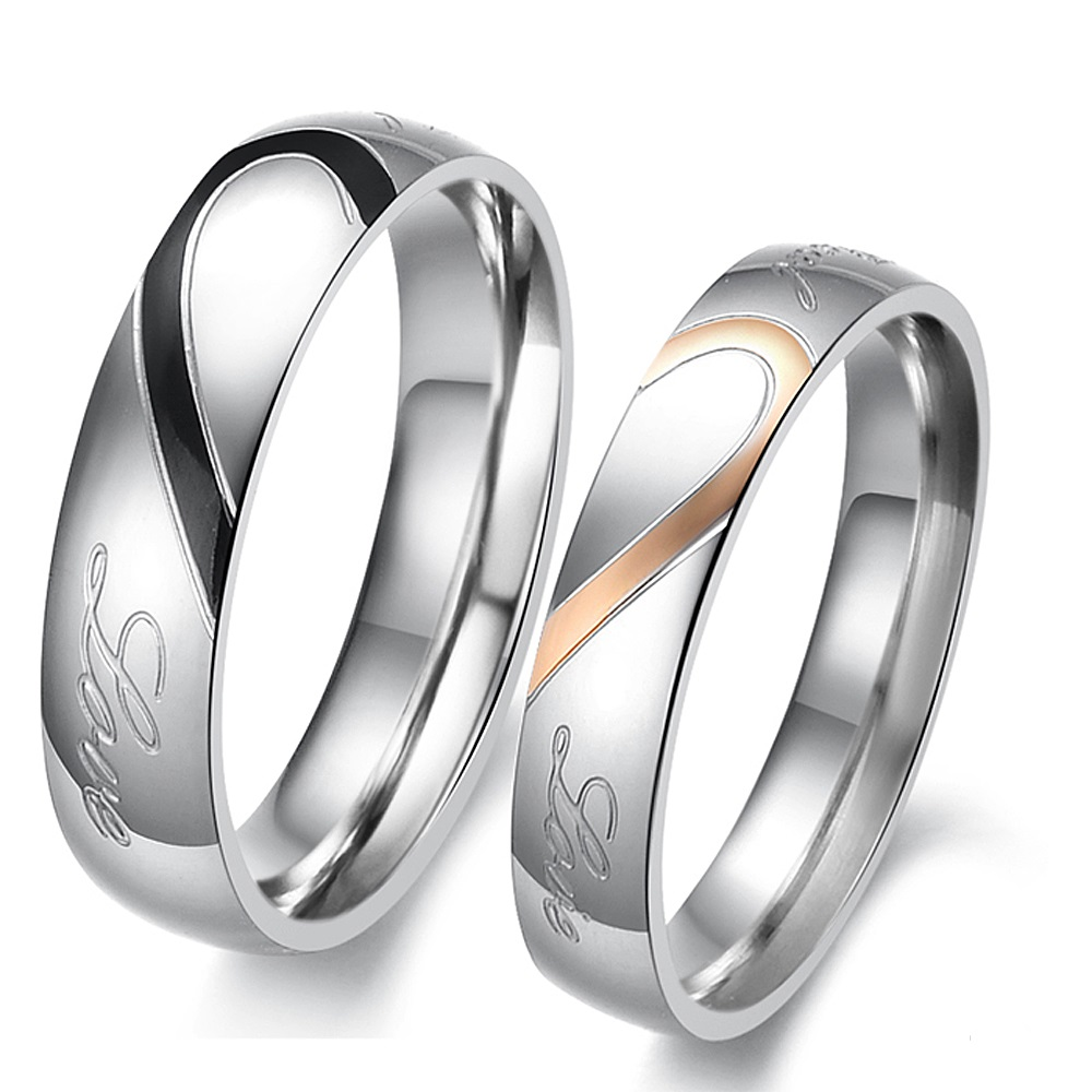 Joyería de moda Unisex sólido de acero inoxidable pulido hombres mujeres amante parejas anillos tamaño 5 5 5 6 6 7 8 9 10 11 12 13 14 15 Relojes de cuarzo para parejas y amantes de la marca superior de CHENXI para hombre, relojes de regalo de San Valentín para mujer, relojes de pulsera impermeables de 30m para mujer