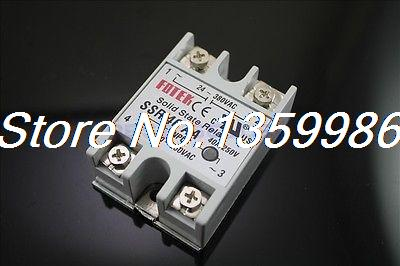 10pcs Solid State Relay SSR-40 AA AC-AC 40A/250V 80-250VAC/24-380VAC original 3 phase ac solid state relay ssr 15a 80 250vac normally open electronic switch