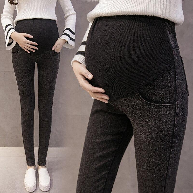 Envsoll M-3XL <font><b>Maternity</b></font> <font><b>Jeans</b></font> for Pregnant Women Pregnant Pants Pregnancy Clothes Spring Summer 2018 <font><b>Maternity</b></font> Pant Plus Size