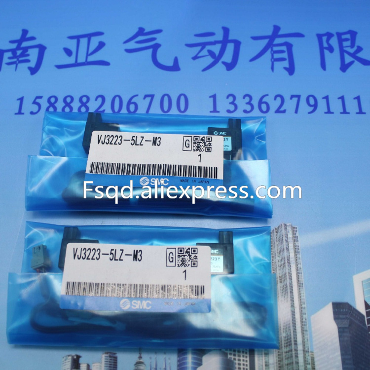 VJ3223-5LZ-M3 SMC solenoid valve electromagnetic valve pneumatic component smc type pneumatic solenoid valve sy5320 5lzd 01