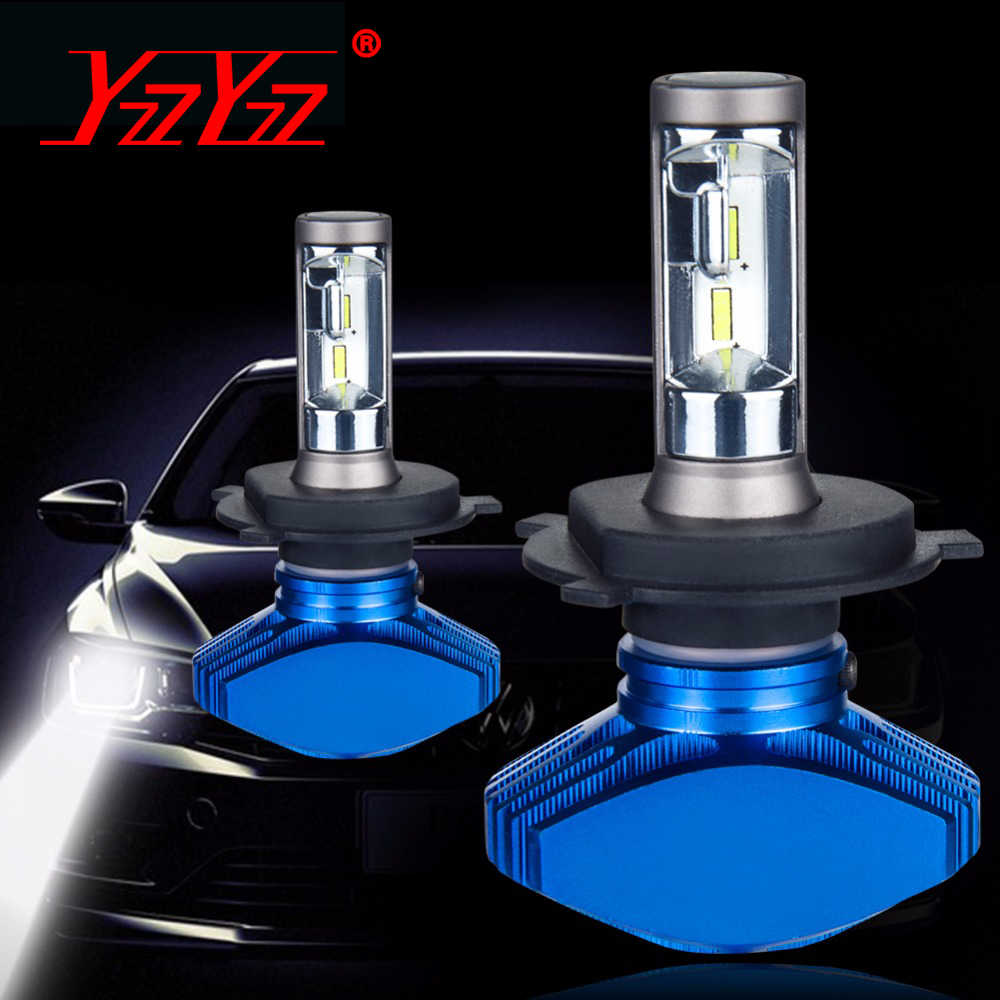 H7 Led H4 Car Bulb H1 H11 Fog Lamp Hb4 Fanless Car Lamp 6500K 12V Led CSP Chips 80W/set 9005 Hb3 LED Auto-styling Headlight 9006