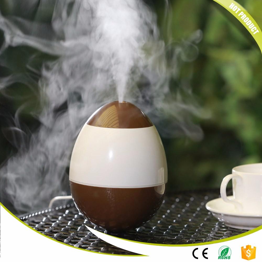 Egg Shape USB Ultrasonic Air Humidifier Tumbler Humidifier Essential Oil Aroma Diffuser Mist Maker Fogger
