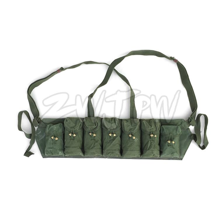 Original  Chinese Surplus Militray Chinese Tpye 63  Chest Rig Ammo Pouch
