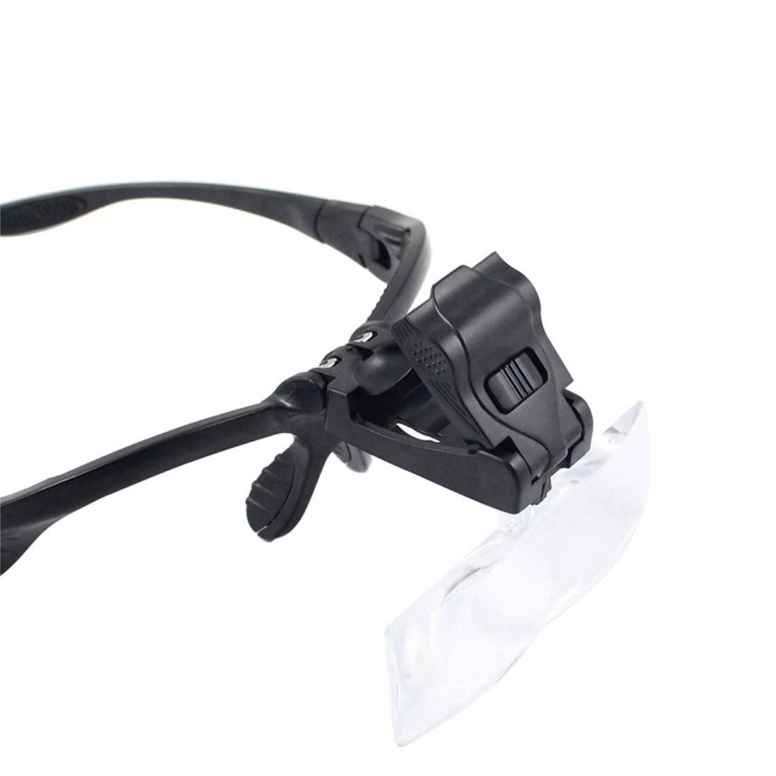 Lunettes Loupe optique, bandeau, réparation des yeux, Loupe 2, 1.0/1.5/2.0/3.5X, lentille optique 5 pièces