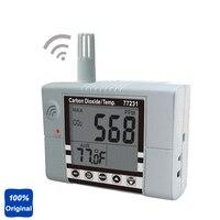 Wallmount Indoor Air Quality Meter CO2 Monitor Temperature Tester AZ 77231