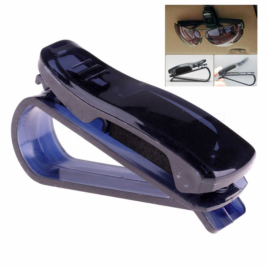 Auto Fastener Clip ABS Car Vehicle Sun Visor Sunglasses Eyeglasses Glasses Bank Card Ticket Pen Portable Clip Holder