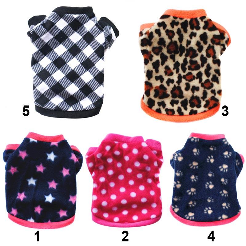 Winter Warm Sweatshirt Clothes Lovely Pet Dog Cat Villus Puppy Doggy Apparel Clothing Hot Sale