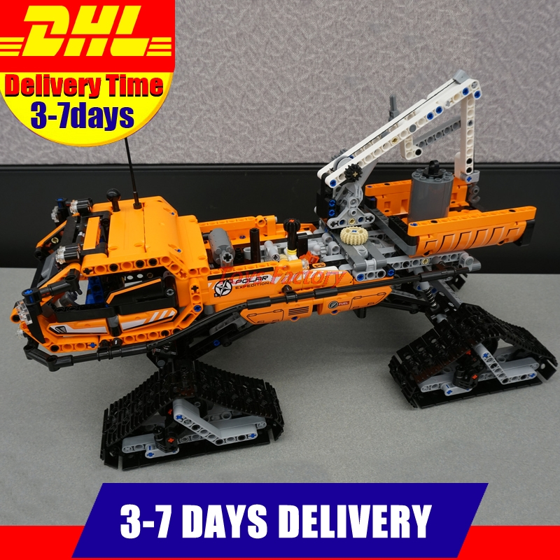 IN STOCK Lepin 20012 913pcs Technic Series Mechanical Group The Polar Adventure Vehicle Building Blocks Bricks Set Toys 42038 lepin 20076 technic series the mack big