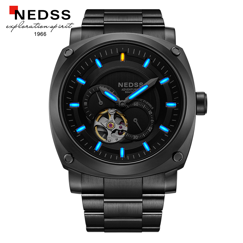 2018 japan mechanical watches brand watch Mens Watches seiko automatic Watch Fashion Watch Male Wristwatches 100M waterproof цена