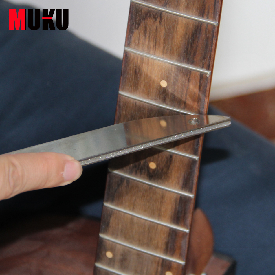 ФОТО Guitar Care & Cleaning Tool / Stainless Steel File for Guitar Frets with Diamond Abrasives